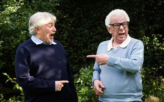 Monty Norman and Barry Cryer